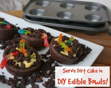 homemade oreo desserts gummy worms dirt cake  edible