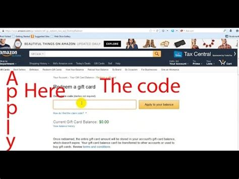 Maybe you would like to learn more about one of these? how to apply a gift card in amazon Account - YouTube