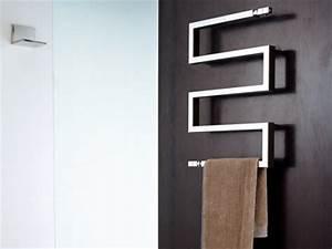 Seche Serviette Electrique Design : un s che serviette design et chic ~ Preciouscoupons.com Idées de Décoration