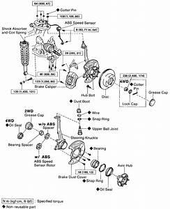 toyota tacoma transfer case diagram toyota free engine With 2004 toyota tacoma front wheel bearing diagram