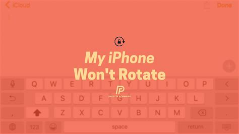 why wont my iphone turn on my iphone won t rotate here s the real fix