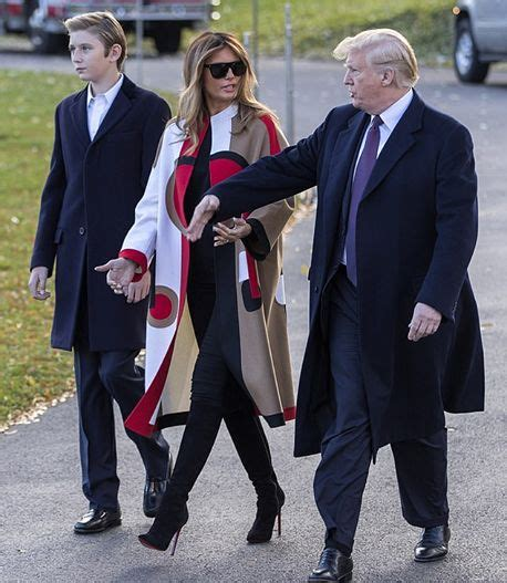 barron trump tall son he donald cm melania youngest parents why his years himself distancing growing