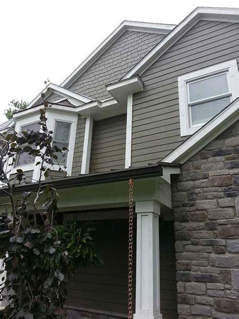 seamless gutters gallery 3g home exteriors