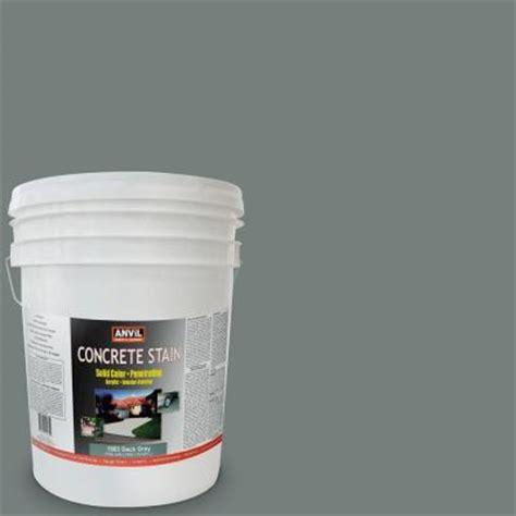 anvil 5 gal deck grey acrylic solid color interior