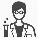 Icon Researcher Laboratory Technician Icons Transparent Keywords
