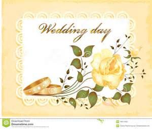 exemple de voeux de mariage carte de mariage photo stock image 16617400