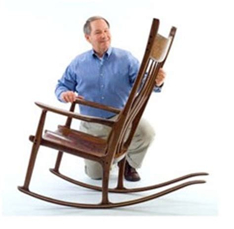 maloof rocking chair class highland woodworking wood news no 36 august 2008