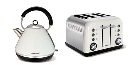 Morphy Richards Accents Kettle And Toaster Set In White S
