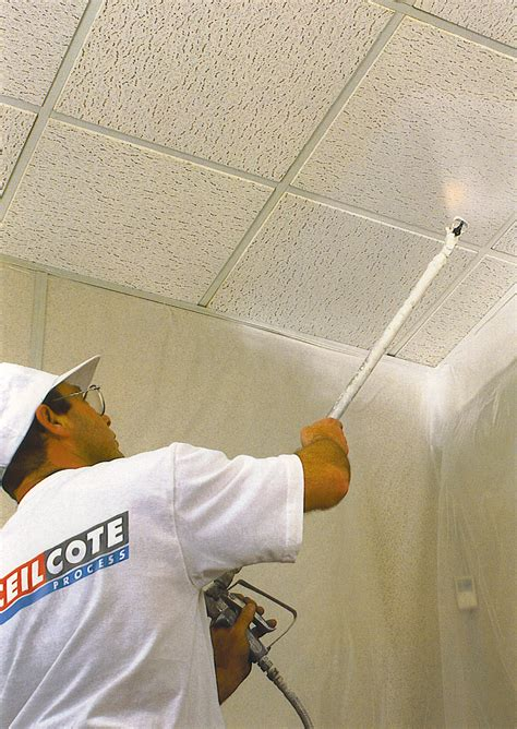 ceiling spray painting by ceilcote ceilcote paint