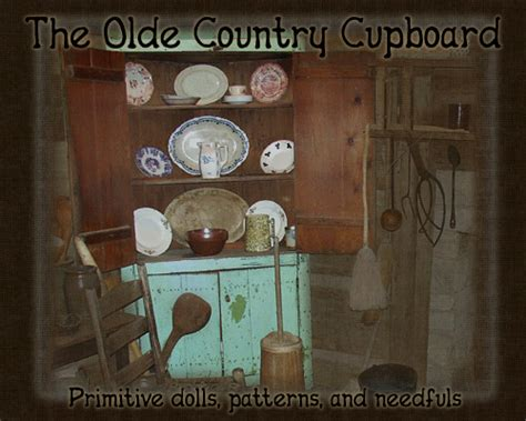Country Cupboard Patterns by The Country Cupboard
