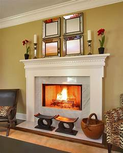 Fireplace mantel design living room traditional with area for Living room mantel
