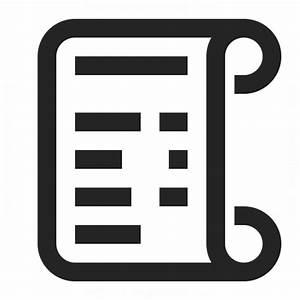 Receipt Icon & IconExperience - Professional Icons » O ...