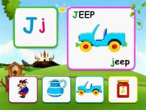 Words with Letter J for Kids