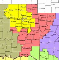 Best Oklahoma County Map - ideas and images on Bing | Find what you ...