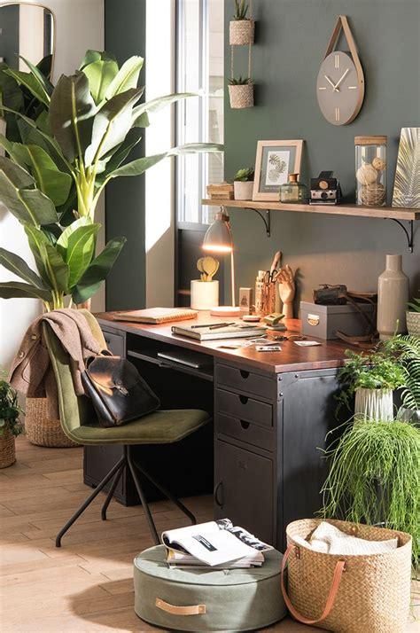 decoration de bureau maison tendance déco garden bureau des plantes maisons