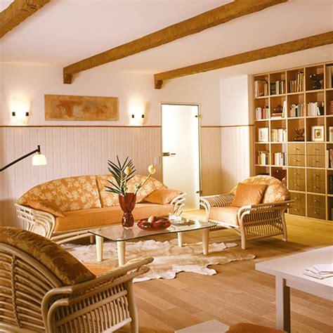 Decke Mit Holzbalken by Decosa Dekobalken Tirol Eiche Hell 2 M Bauhaus