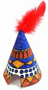 Fabriquer Tipi Enfant : fabriquer un tipi gabarits imprimer d corer un tipi am rindien anniversaire indian ~ Voncanada.com Idées de Décoration