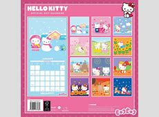 Hello Kitty Calendar 2017 Calendar Club UK