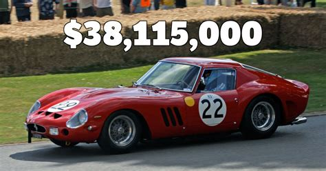 Most Expensive At Auction by The Most Expensive Cars Sold At Auction