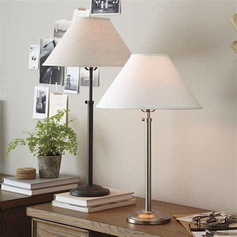 Hanover Adjustable Table Lamp  Ballard Designs