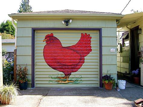 outdoor murals dress  sheds garages  blank walls
