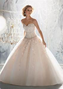 Princess Wedding Dresses with Bling for Glamorous Look ...