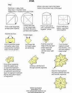 Tea Bag Folding Instruction Sheet