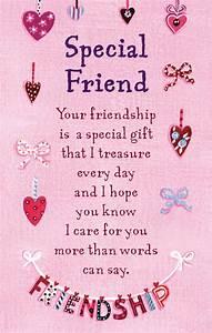 Special Friend Heartwarmers Keepsake Credit Card ...