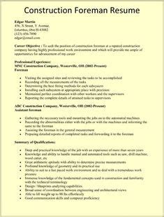 Resume Exles Construction Worker by Resume Templates Project Manager Construction Manager