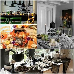 Ideen Für Halloween : zu halloween basteln meistern sie eine festliche tischdeko ~ Frokenaadalensverden.com Haus und Dekorationen