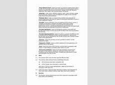 Plumbing services terms and conditions Docular