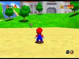 Vidotest Super Mario 64 Nintendo 64 YouTube
