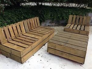 Fauteuil En Palette Facile : 21 id es de bancs et chaises en palette bois le mobilier facile r aliser ~ Melissatoandfro.com Idées de Décoration