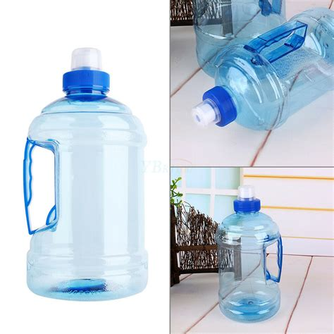 The lid is removable, which is convenient to replenish food or water and clean. Outdoor 1L/2L BPA Free Drink Water Bottle Cap Kettle PET ...