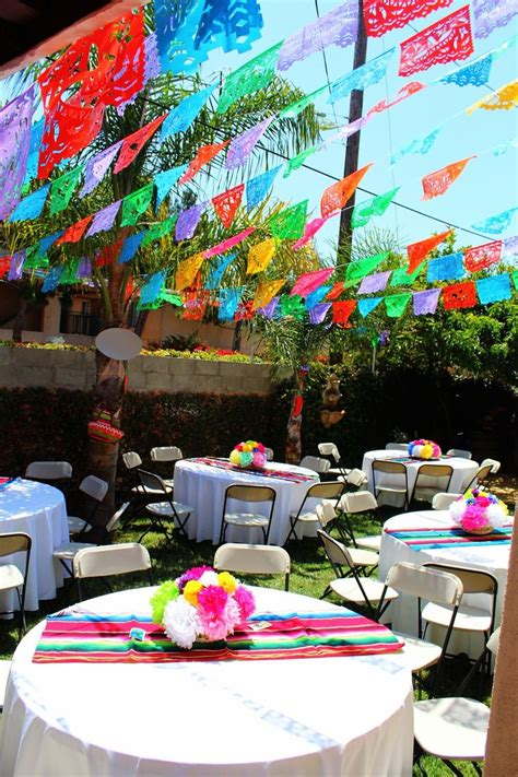 mexican party theme paper flowers mexican party