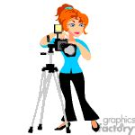 12144 professional photographer clipart on tripod clipart clipart panda free