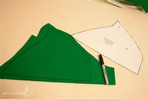 Peter pan hat tutorial sew in harmony for Peter pan hat template