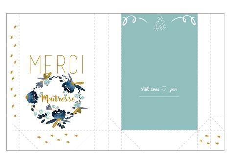 Carte De à Imprimer by Carte Merci Ma 238 Tresse 224 Imprimer Cooking N Co
