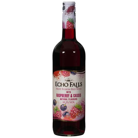 Red Patio Furniture Set by Echo Falls Fruit Fusion Red Wine With Raspberry Amp Cassis