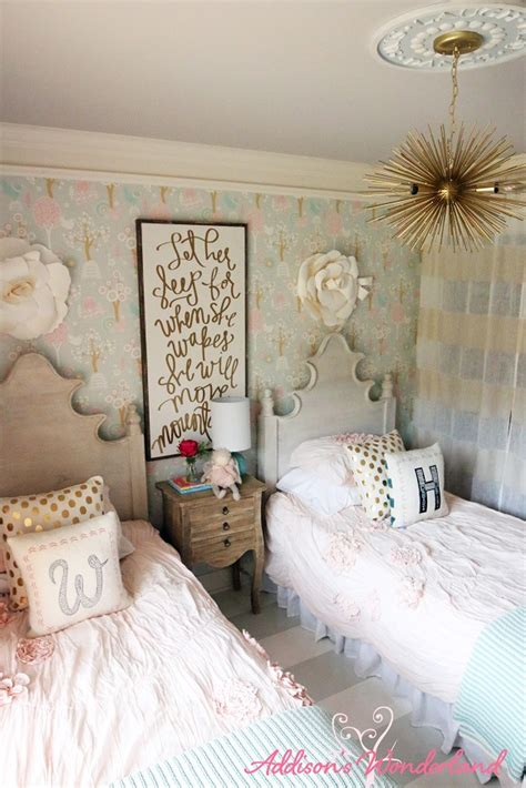 winnies  girl room design reveal addisons