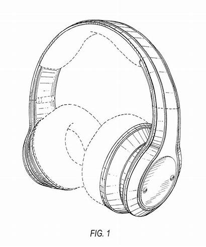 Headphones Drawing Patent Patents
