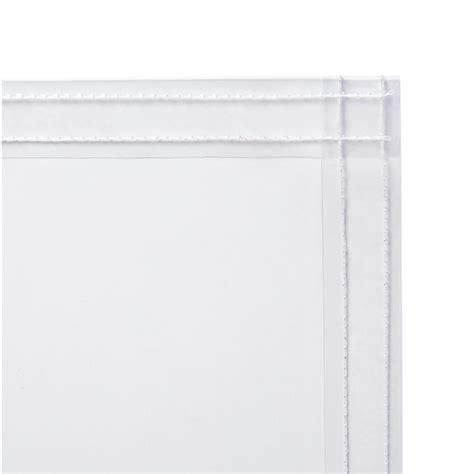 40 mil retardant clear vinyl curtain steiner