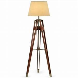 Jcpenney home surveyor floor lamp from a walk among the for Surveyors floor lamp wood
