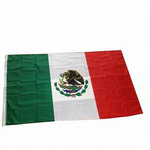 90x150cm Mexico Flag 100% Polyester Double Sides Printing ...
