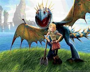 Astrid Hofferson images Astrid and Stormfly wallpaper ...