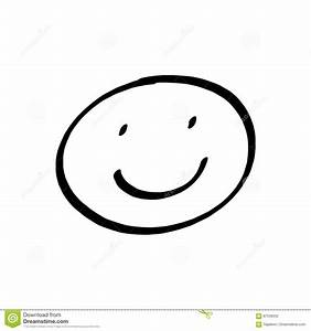 Smiley face drawing stock illustration. Illustration of ...