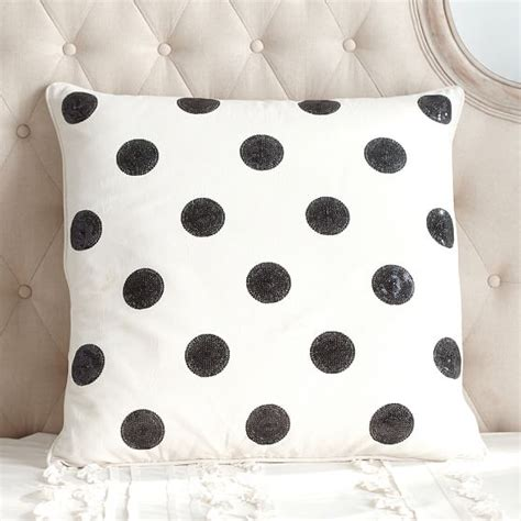 Dot Beaded Pillow Cover Pottery Barn by Fall 2016 Emily Meritt For Pottery Barn Collection