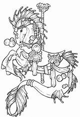 Coloring Pages Adult Horse Getcolorings sketch template