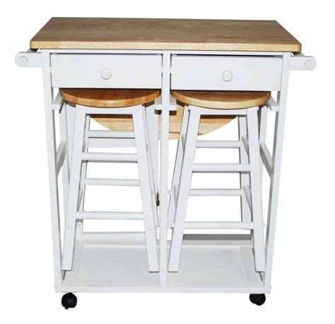 Kitchen Island With Wheels And Stools kitchen carts on wheels bar and stool set homes