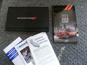 2015 Dodge Grand Caravan Owner Manual User Guide Set Sxt R